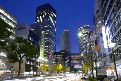 名古屋の高層ビル